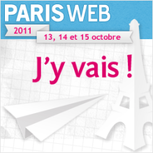 Paris Web, j'y vais!