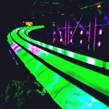 Glissade lumineuse Montréal en lumière