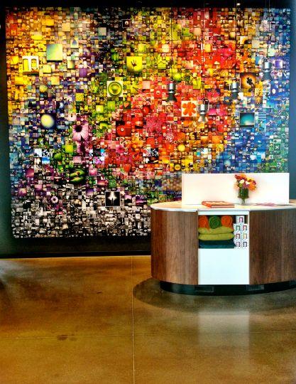 ALT EXPO Murale Alt Hotel Pearson Toront