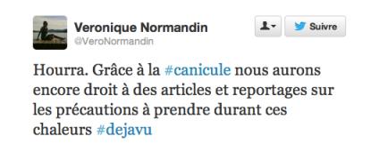Exemple d'un tweet avec #hashtag sarcastique